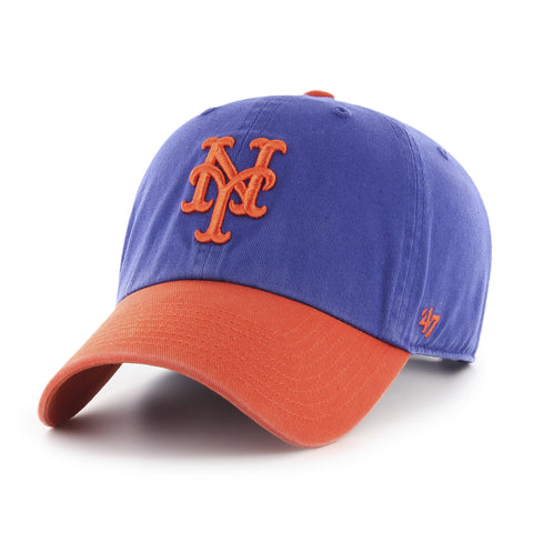New York Mets Clean Up Two Tone 47 Brand Adjustable