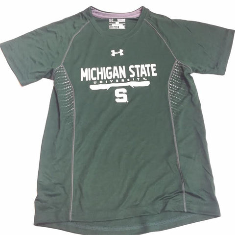 "Michigan State Spartans Under Armour ""Limitless"" Youth Shirt - Dino's Sports Fan Shop"