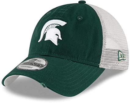 Michigan State Spartans New Era 9TWENTY Stated Back Adjustable Hat
