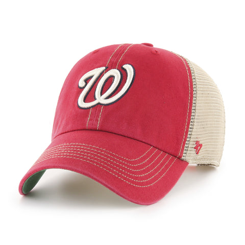 Washington Nationals Adult Trawler Clean Up Hat