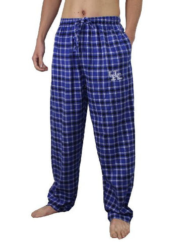 Kentucky Sleepwear Concept Sports Blue Adult Pajama Pants - Dino's Sports Fan Shop