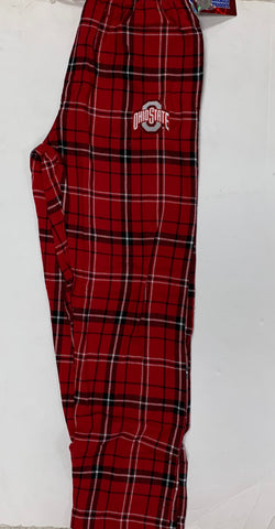 Ohio State Buckeyes Adult Concept Sports Red Pajama Pants