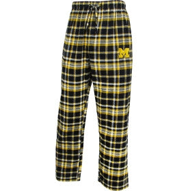 Michigan Wolverines Concept Sports Adult Pajama Pants - Dino's Sports Fan Shop