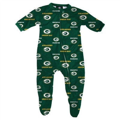 Green Bay Packers NFL Green All Over Onesie