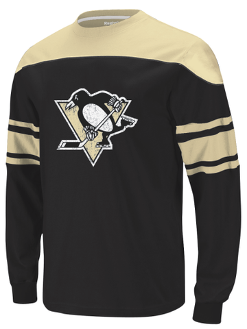 Pittsburgh Penguins Reebok L/S Youth Shirt - Dino's Sports Fan Shop