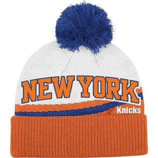 New York Knicks Adidas Jacquard Wordmark Cuffed Knit Hat - Dino's Sports Fan Shop