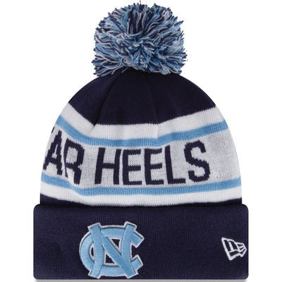 North Carolina Tar Heels New Era Biggest Fan Redux Knit Hat - Dino's Sports Fan Shop