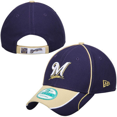 sale retailer a4306 62b38 Milwaukee Brewers New Era 9forty Adjustable Mesh Hat - Dino s Sports Fan  Shop