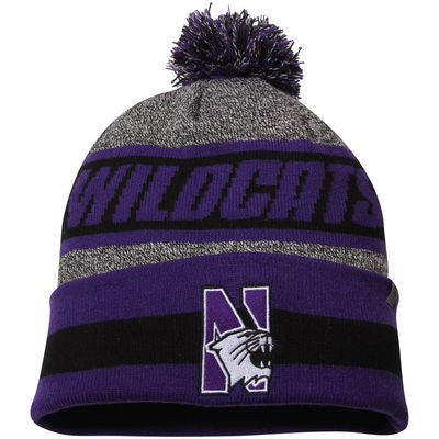 Northwestern Wildcats Top of the World Cumulus Knit Hat - Dino's Sports Fan Shop