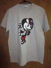 Ohio State Buckeyes Mascot Logo Delta Adult Shirt - Dino's Sports Fan Shop