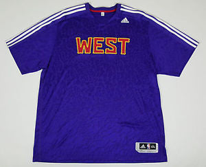 Western Conference Adidas Adult 2014 NBA All-Star Game Shooter ClimaLite Shirt - Dino's Sports Fan Shop
