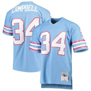 Earl Campbell #34 Houston Oilers Youth Mitchell & Ness NFL Stitched Jersey