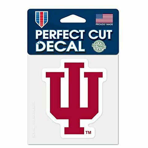 Indiana Hoosiers Wincraft Perfect Cut Decal 4x4