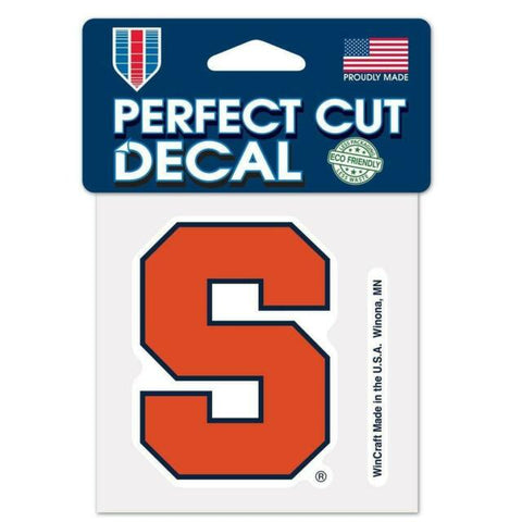 Syracuse Orange Wincraft Perfect Cut Decal 4x4