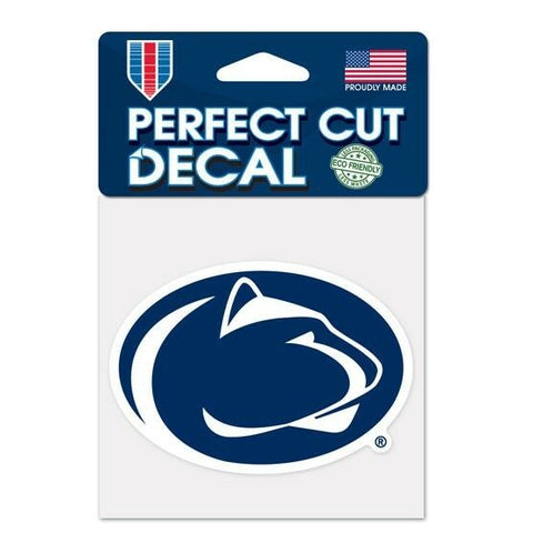 Penn State Nittany Lions Wincraft Perfect Cut Decal 4x4
