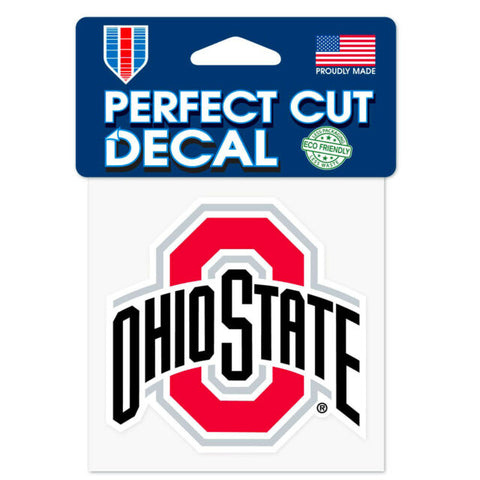 Ohio State Buckeyes Wincraft Perfect Cut Decal 4x4