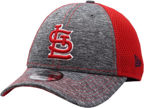 St. Louis Cardinals New Era MLB Grey/Red Shadow Turn 9FORTY Adjustable Hat