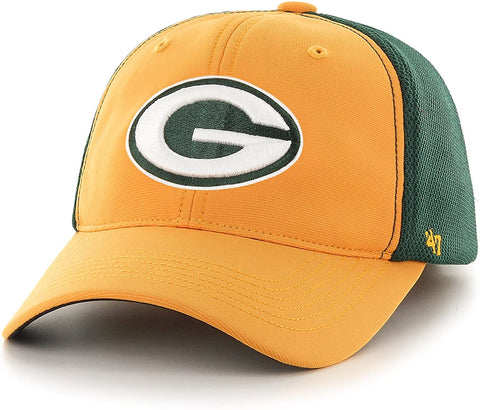 Green Bay Packers '47 Brand Draft Day Closer Stretch Fit Hat