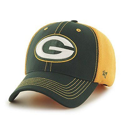 Green Bay Packers '47 Brand NFL Cooler MVP Mesh Adult Hat