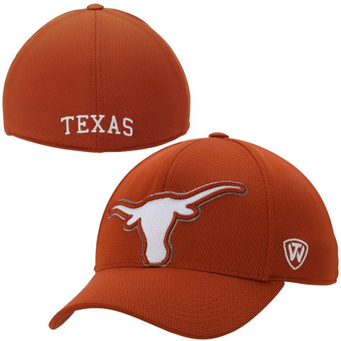 Texas Longhorns Top of the World Memory Fit Offsides Adult Hat
