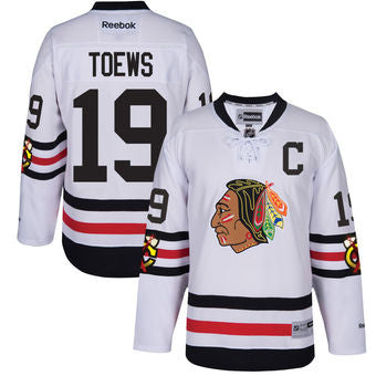 Jonathan Toews #19 Chicago Blackhawks NHL Reebok Women's 2017 Winter Classic Premier Jersey