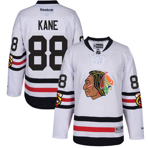 Patrick Kane #88 Chicago Blackhawks NHL Reebok Women's 2017 Winter Classic Premier Jersey