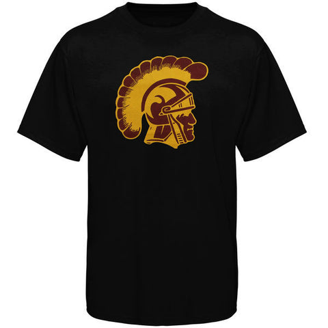 USC Trojans Authentic Apparel Black Logo T-Shirt - Dino's Sports Fan Shop