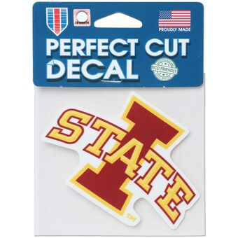 Iowa State Cyclones Wincraft Perfect Cut Decal 4x4