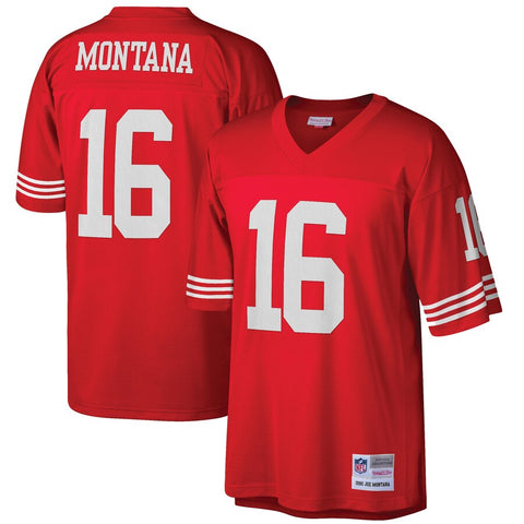 Joe Montana #16 San Francisco 49ers Youth Mitchell & Ness NFL Stitched Jersey