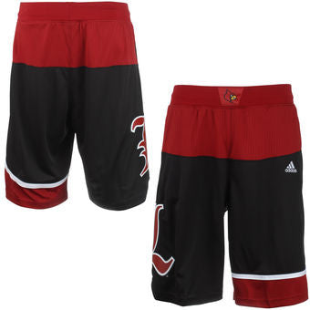 Louisville Cardinals Adidas Youth March Madness Shorts - Dino's Sports Fan Shop