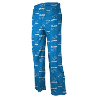 Youth Detroit Lions Pajama Pants