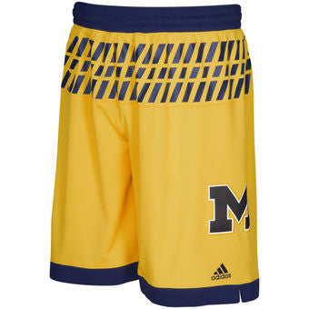 c4e59293dcd Michigan Wolverines Adidas March Madness Game Shorts - Dino s Sports Fan  Shop