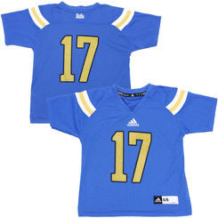 UCLA Bruins #17 NCAA Adidas 2014 Blue Youth Football Jersey - Dino's Sports Fan Shop