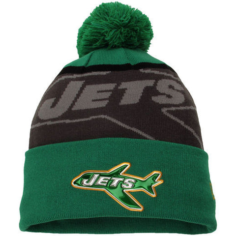 New York Jets New Era Classic Gold Collection Knit Hat - Dino's Sports Fan Shop
