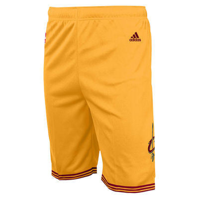 Cleveland Cavaliers NBA Youth Alternate Shorts Gold - Dino's Sports Fan Shop