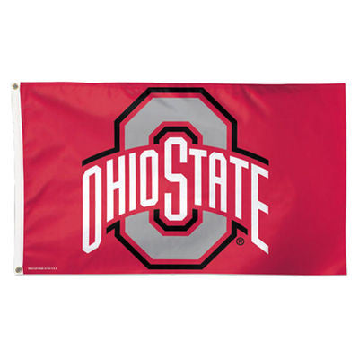 Ohio State Buckeyes Wincraft Flag - 3' x 5' - Dino's Sports Fan Shop