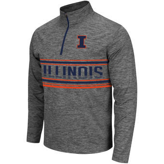 Illinois Fighting Illini Colosseum Brisk 1/4 Zip Pullover - Dino's Sports Fan Shop