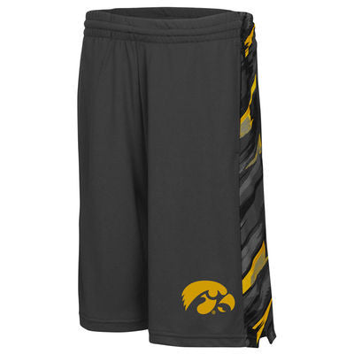 Iowa Hawkeyes Colosseum Mustang Youth Shorts - Dino's Sports Fan Shop