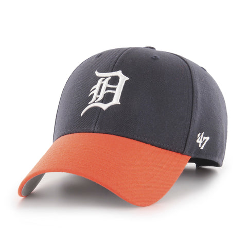 Detroit Tigers Adult MVP Two Tone 47 Brand Hat