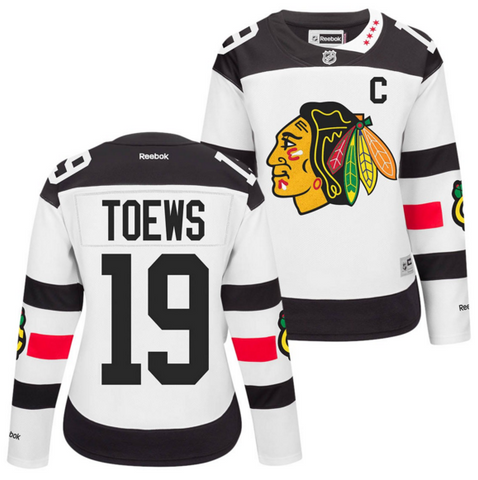 Jonathan Toews #19 Chicago Blackhawks NHL Reebok Women's 2016 Stadium Series Premier Jersey - Dino's Sports Fan Shop