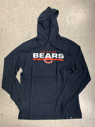Chicago Bears '47 Brand End Line Club Hooded Mens Pullover