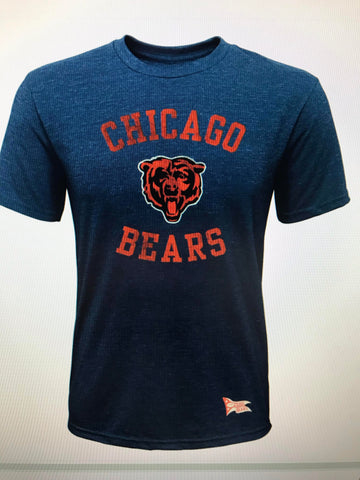 Chicago Bears Youth Tri-Blend T Shirt Colosseum