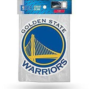 NBA Golden State Warriors Rico Static Cling Decal