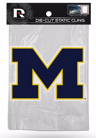 NCAA Michigan Wolverines Rico Static Cling Decal
