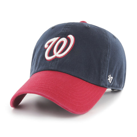 Washington Nationals Adult Clean Up Two Tone 47 Brand Hat