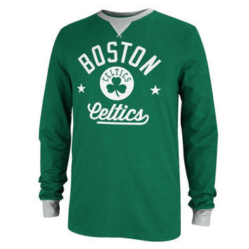 Boston Celtics Adidas Originals Men's Crew Kelly Green Long Sleeve Shirt - Dino's Sports Fan Shop