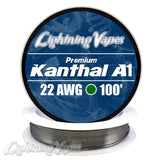 Lightning Vapes - Kanthal A1 - 22GA - 25FT