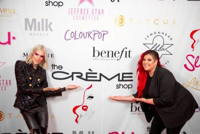 The Crème Shop x Behind The Brush