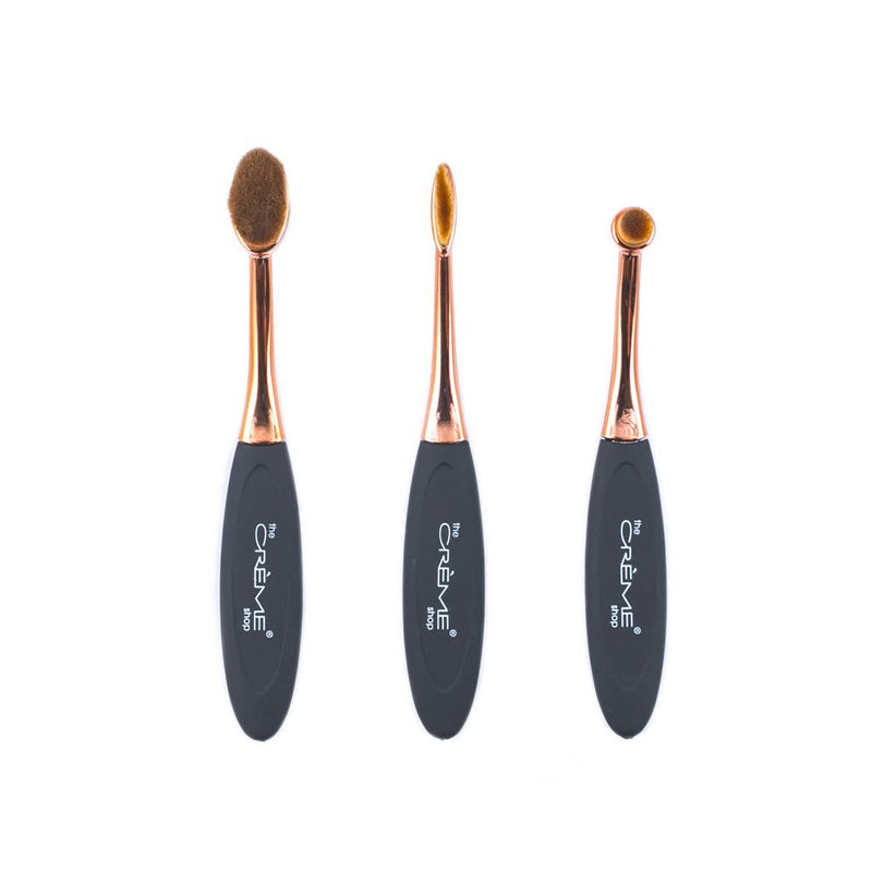 The OMG Brush Trio Set, Brush Sets - The Crème Shop