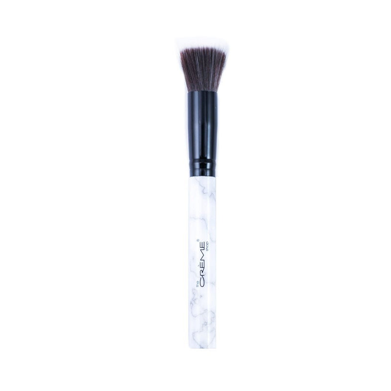 The MRBL Stippling Bronzer Brush - The Crème Shop